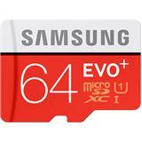 64 GB Samsung EVO Plus microSDXC Class 10 U1 Retail inkl. Adapter auf