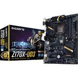 Gigabyte GA-Z170X-UD3 Intel Z170 So.1151 Dual Channel DDR4 ATX Retail
