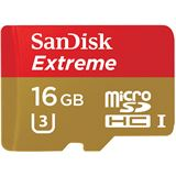 16 GB SanDisk Extreme microSDHC Class 10 Retail inkl. Adapter auf SD