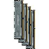 32GB Crucial Ballistix Sport LT grau DDR4-2400 DIMM CL16 Quad Kit