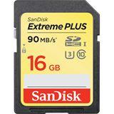 16 GB SanDisk Extreme Plus SDHC Class 10 U3 Retail