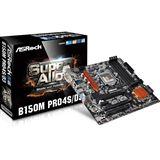 ASRock B150M Pro4S/D3 Intel B150 So.1151 Dual Channel DDR mATX Retail