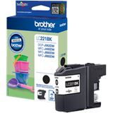 Brother Tinte LC221BK LC221BK schwarz