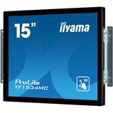 """15"""" (38,10cm) iiyama ProLite TF1534MC-B1X schwarz 1024x768 1xDVI"""