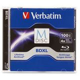 Verbatim M-DISC BD-R XL 100GB/1-4x Jewelcase (1 Disc)