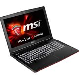 "Notebook 15.6"" (39,62cm) MSI GE62 6QF Apache Pro - GE62-6QF8H11"