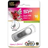16 GB Silicon Power Mobile C80 silber USB 3.0