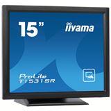 "15"" (38,10cm) iiyama ProLite T1531SR-B1 Touch schwarz 1024x768"