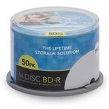 Millenniata M-DISC BD-R 25GB/1-4x Cakebox 50 Disc