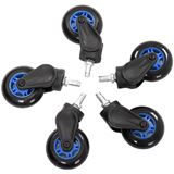AKRacing Rollerblade Rollen 5 Stück blau