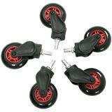 AKRacing Rollerblade Rollen 5 Stück rot