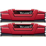 32GB G.Skill RipJaws V rot DDR4-3000 DIMM CL15 Dual Kit