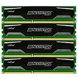 32GB Crucial Ballistix Sport DDR3-1600 DIMM CL9 Quad Kit