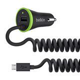 Belkin KFZ Dual-Ladegerät,17 Watt 3.4A, USB / Micro-USB