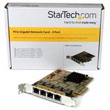 Startech 4 Port PCIe Gigabit