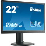 "22"" (55,88cm) iiyama ProLite B2280HS-B1 schwarz 1920x1080 1xDVI / 1xHDMI 1.3 / 1xVGA"