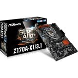 ASRock Z170A-X1/3.1 Intel Z170 So.1151 Dual Channel DDR4 ATX Retail