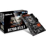 ASRock H170A-X1/3.1 Intel H170 So.1151 Dual Channel DDR4 ATX Retail