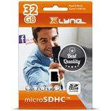 32 GB xlyne 7432001 microSDHC Class 10 Retail inkl. Adapter