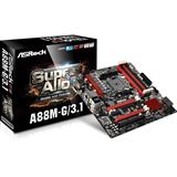 ASRock A88M-G/3.1 AMD A88X So.FM2+ Dual Channel DDR3 mATX Retail