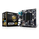 Gigabyte GA-N3150N-D3V SoC So.BGA Dual Channel DDR3 Mini-ITX Retail