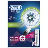 Braun Zahnbürste Oral-B PRO 760 Cross Action schwarz