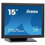 """15"""" (38,10cm) iiyama ProLite T1531SAW-B1 schwarz 1024x768 1xDVI"""