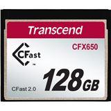 256 GB Transcend TS128GCFX650 CFast TypII Retail