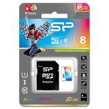 8 GB Silicon Power Elite microSDHC Class 10 U1 Retail