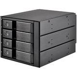 Silverstone SST-FS304B 3x 5,25 Zoll Hot-Swap für 4x 3,5 Zoll HDD