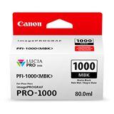 Canon Tinte PFI-1000MBK 0545C001AA mattschwarz
