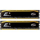 8GB TeamGroup Elite Plus Series schwarz DDR4-2400 DIMM CL16 Dual Kit