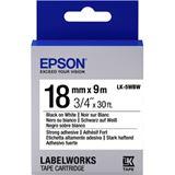 Epson LK5WBW Tape String