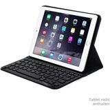 Leicke Sharon Hülle mit Bluetooth-Tastatur QWERTY Apple iPad Air 2 schwarz