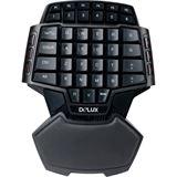 Delux T9S Gaming schwarz