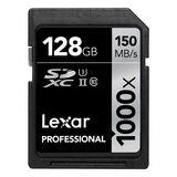 128 GB Lexar Professional SDXC 1000x Class 10 U3 Retail