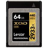 64 GB Lexar Professional 2933x XQD Retail