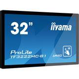 "31,5"" (80,01cm) iiyama ProLite F3222MC-B1 schwarz 1920x1080 DVI / VGA / seriell"