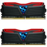 8GB GeIL Super Luce LED rot DDR4-2400 DIMM CL15 Dual Kit