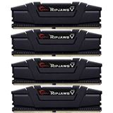 32GB G.Skill RipJaws V schwarz DDR4-3200 DIMM CL14 Quad Kit