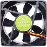 Rasurbo BAF8025RET 80x80x25mm 1900 U/min 21 dB(A) schwarz