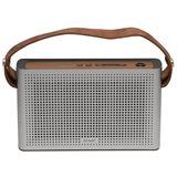 Denver Bluetooth BTS-200 Lautsprecher mit AUX silber
