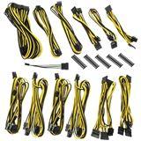 BitFenix Alchemy 2.0 PSU Cable Kit, BQT-Series DPP - schwarz/gelb