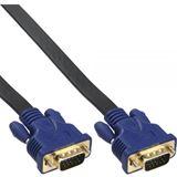 (€2,65*/1m) 3.00m InLine S-VGA Anschlusskabel VGA 15pol Stecker