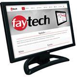 "19"" (48,26cm) Faytech FT0190TMB Touch schwarz 1440x900 VGA"