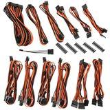 BitFenix Alchemy 2.0 PSU Cable Kit BQT-Series DPP schwarz/orange