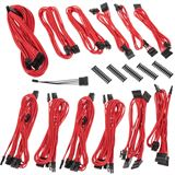 BitFenix Alchemy 2.0 PSU Cable Kit BQT-Series DPP rot