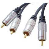 (€2,59*/1m) 5.00m ShiverPeaks Audio Anschlusskabel Pro-Serie