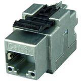 Telegärtner Modul AMJ CAT6A, TP/LSA Snap-In 2-Pack T568A