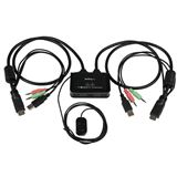 Startech 2 Port HDMI USB